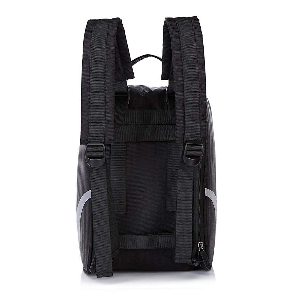 Shoe Bag Golf Modern Golf Shoe Zipped Closure Portable Protect Sports Travel Shoes Black Bag by Bicycleer (Image #6)