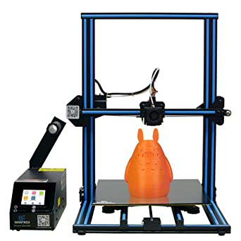 GEEETECH New A30 3D Printer Aluminum with Print Size 320×320×420mm,Filament  Detector,Break Resume,Full-Color Touch Screen and Dual Z Axis Lead