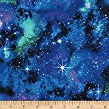 Timeless treasures space galaxy fabric by the yard for Timeless treasures galaxy fabric