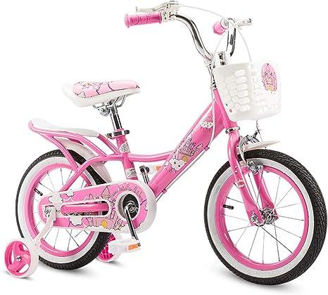 AI-QX Bicicleta Infantil para niños y niñas a Partir de 2-7 años | Bici de montaña 12-18 Pulgadas con Frenos | 12