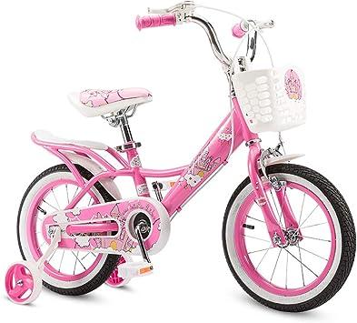 AI-QX Bicicleta Infantil para niños y niñas a Partir de 2-7 ...