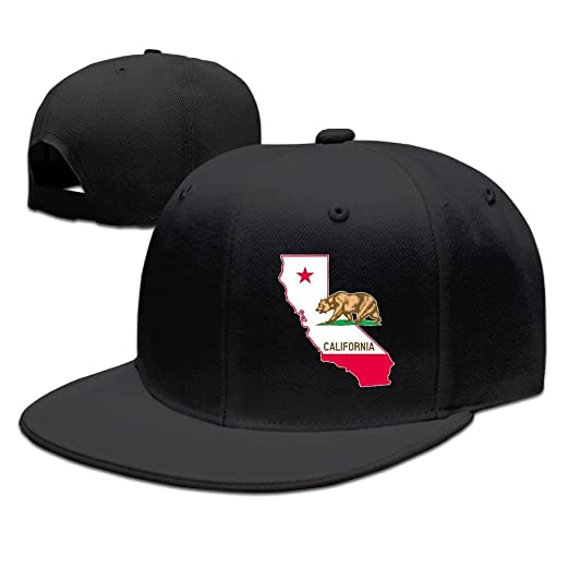 Image Unavailable. Image not available for. Color  DIYoDGG California State  Map Cali Bear Style Visor Hats ... 0b7cfc207b2c