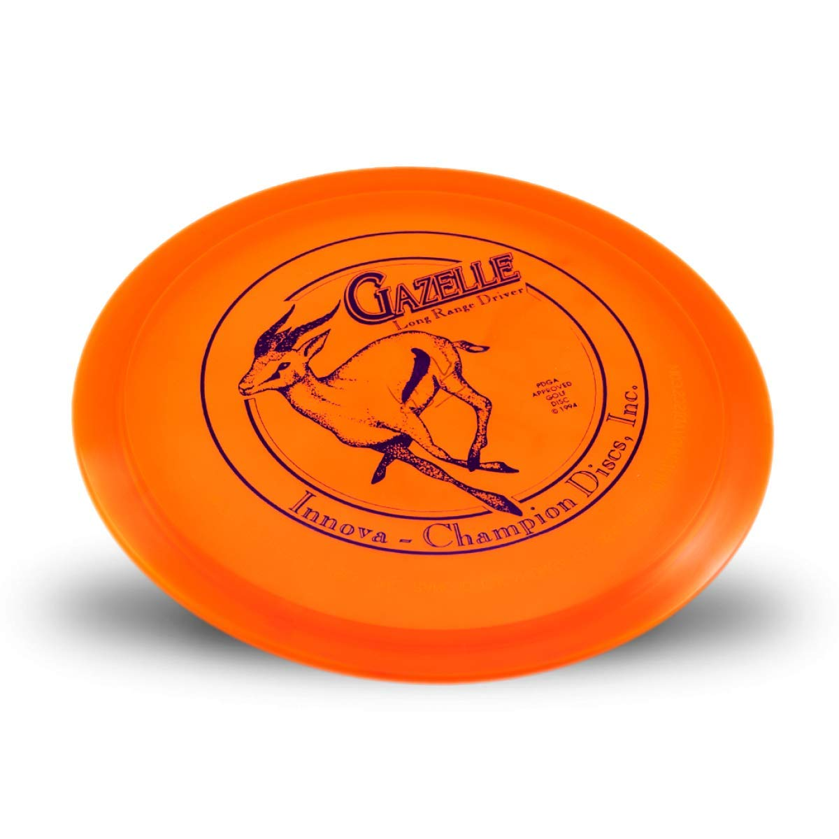 Innova Limited Edition Champion Gazelle Fairway Driver Golf Disc [Colors May Vary] - 173-175g