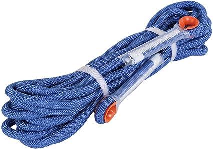 CL& Montañismo Cuerda Auxiliar Cuerda estática Escape Cuerda ...