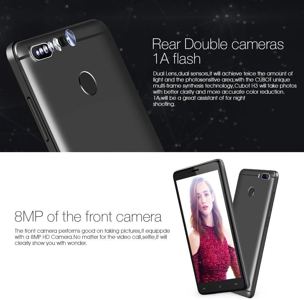 CUBOT H3 4G Smartphone Libre Desbloqueado con 6000mAh Batería ...