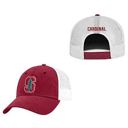 sports shoes 789f2 3d263 Amazon.com   Top of the World Stanford Cardinal Adult NCAA Team Spirit  Relaxed Fit Meshback Hat - Team Color,   Sports   Outdoors