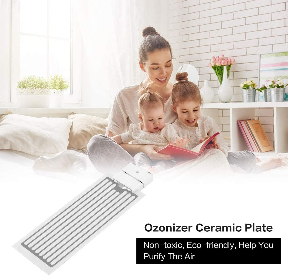 Port/átil Generador de Ozono purificador de aire de desodorierer de Esterilizador de Ozono isator de placas de cer/ámica de aire Esterilizador de lavado o de equipo 3.5g