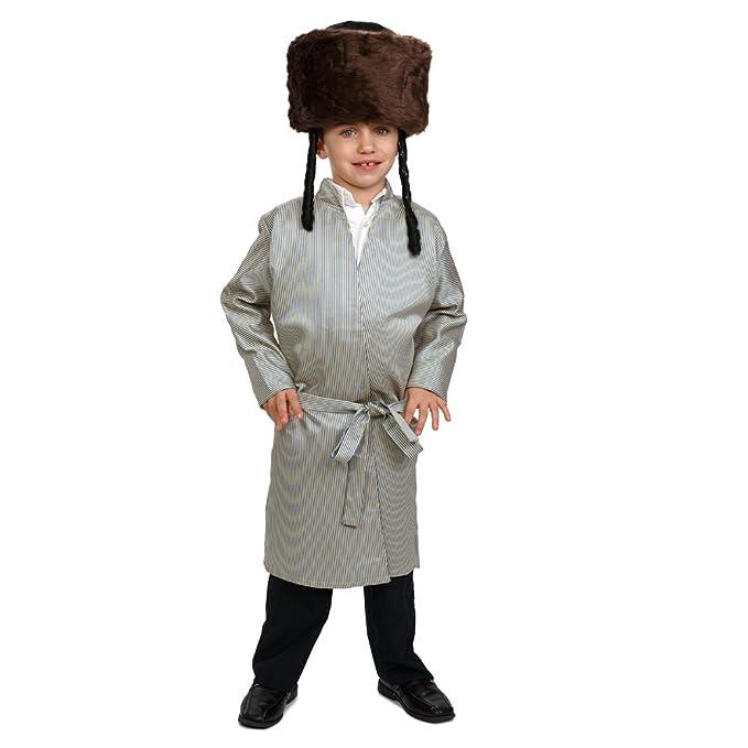 696166075 Amazon.com: Dress Up America Striped Yerushalmi Chasidic Bekitcha Costume  Jewish Rabbi Outfit for Children and Adults: Toys & Games