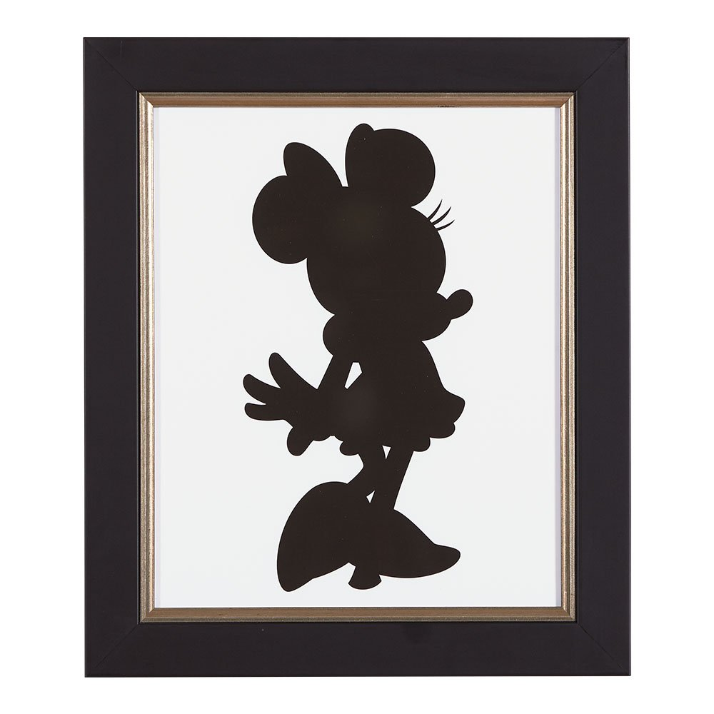 Ethan Allen | Disney Minnie Mouse Silhouette III by Ethan Allen