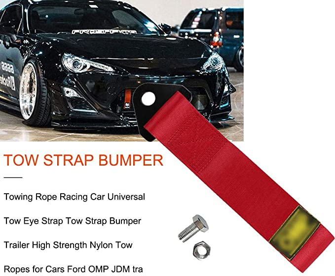Universal Towing Ropes High Strength Nylon Trailer Racing Tow Belt without Logo