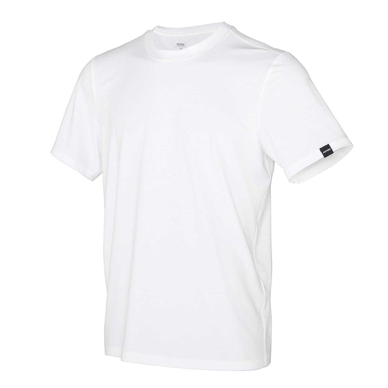 MUVEEN Uomo Performance Nature Tencel T-Shirts Active /& Cool Comfort Stylish Soft /& Leggero