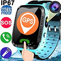 Pedometer Waterproof Smartwatch Anti Lost Flashlight Key Pieces