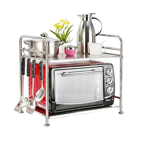 PENGFEI Estante De Cocina del Horno Microondas Acero ...