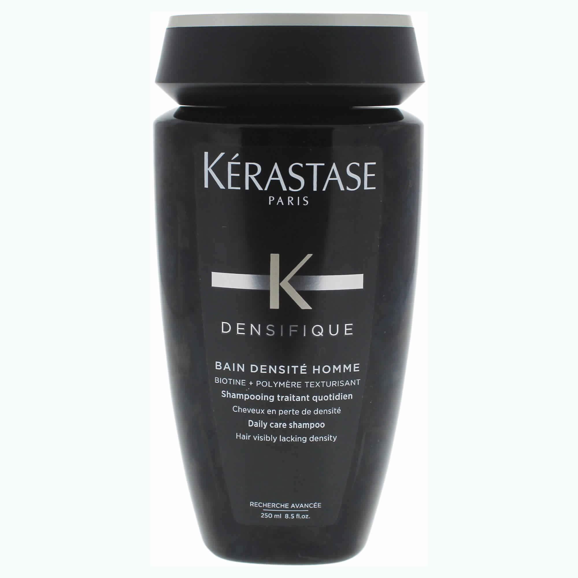 KERASTASE, Densifique Bain Densite Homme Daily Care Shampoo Ounce, Fresh, 8.5 Fl Oz