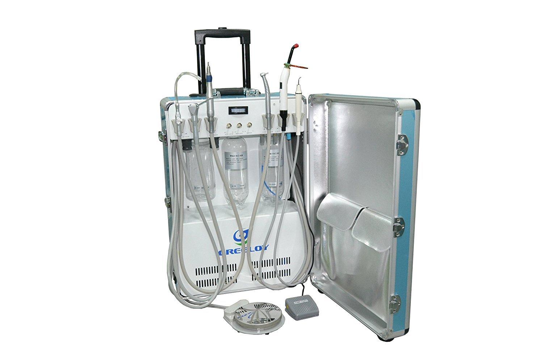Doc.Royal Portable Unit Compressor Scaler+Curing Light+4 Hole Handpiece Tube