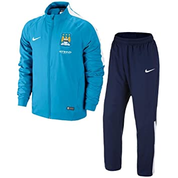 Nike Chándal Manchester City Entreno -Junior- 2014-15: Amazon.es ...