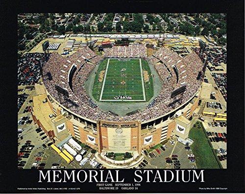 Memorial Stadium First Game Baltimore Ravens Art Print 8x10 Photo 1996 Ray Lewis