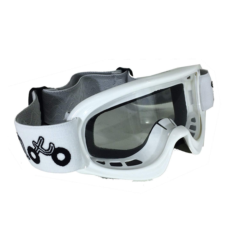 White X1K KIDS MX GOGGLES Cub Off Road Quad Dirt Bike Enudro BMX MTB Enduro Childrens Motorcycle Motorbike Sports Racing Goggles