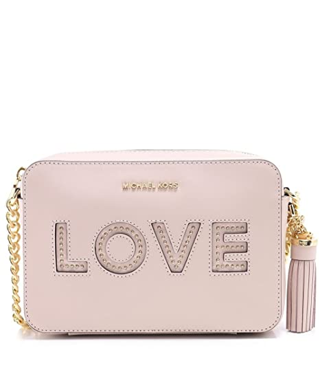 c6d6c8445f0a0 UGG Ginny Soft Pink Leather Love Camera Bag Pink Leather  Amazon.co.uk   Clothing
