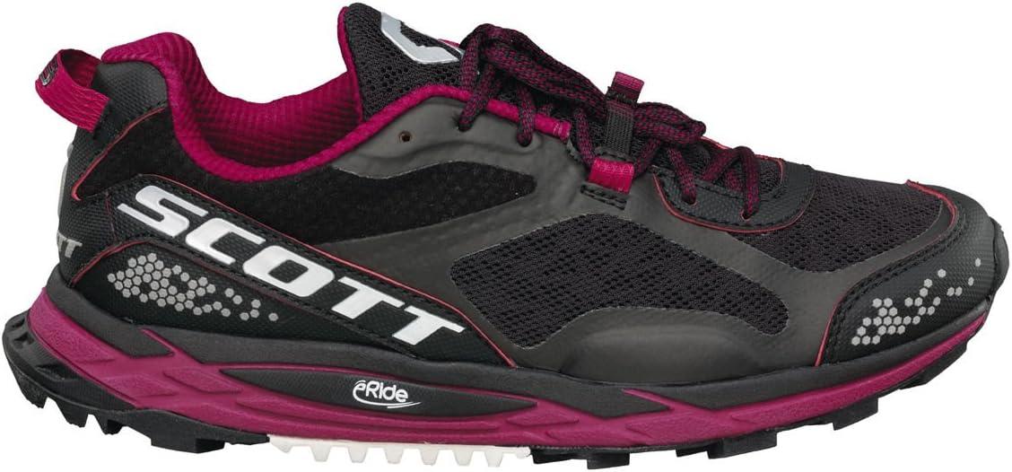 SCOTT RUNNING ZAPATILLA WS ERIDE GRIP 3.0-black/purple-10 usa: Amazon.es: Deportes y aire libre