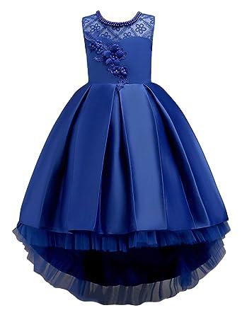e003b7908341b Amazon.com: Babyonlinedress Flower Girls Dress Lace Applique High ...