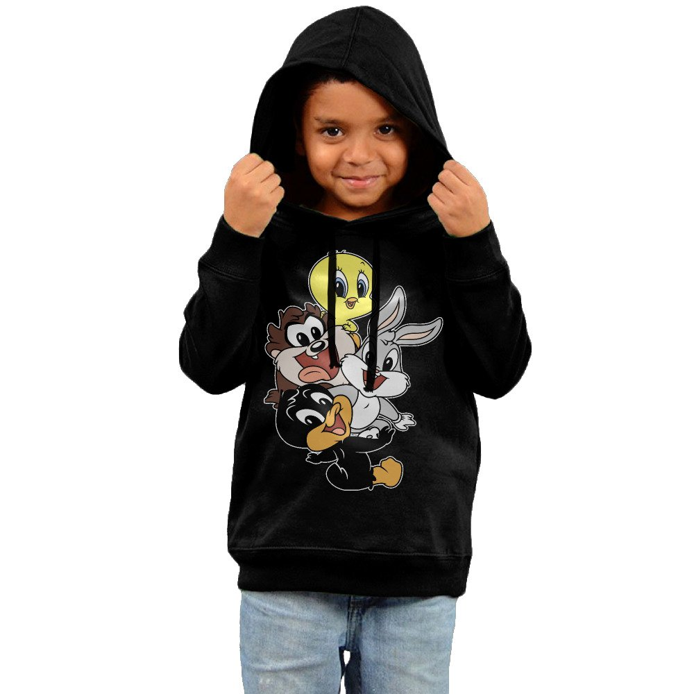 Looney Tunes Heart Cotton Hooded Sweatshirts For Toddler Kid