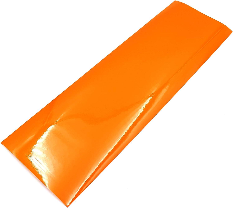 Finest-Folia UG - Lámina para Intermitente, Color Naranja
