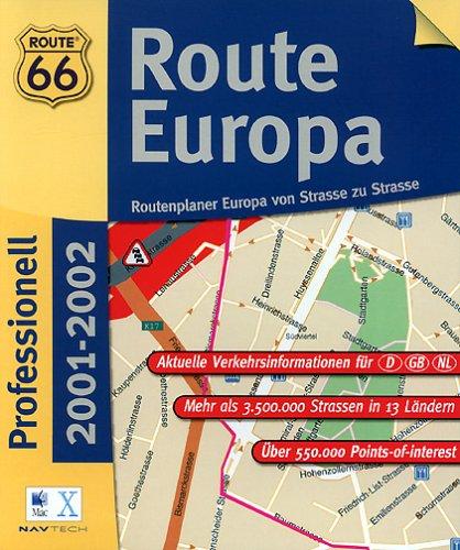 Route 66 - Route Europa Prof. 2001/2002 (MAC) Route 66 - Route Europa Prof. 2001/2002 (MAC)