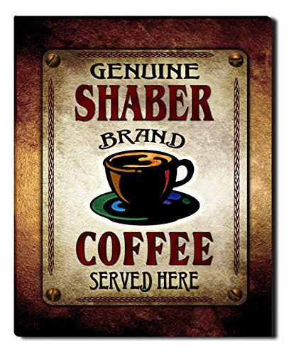 Shaber's Coffee Gallery Wrapped Canvas Print