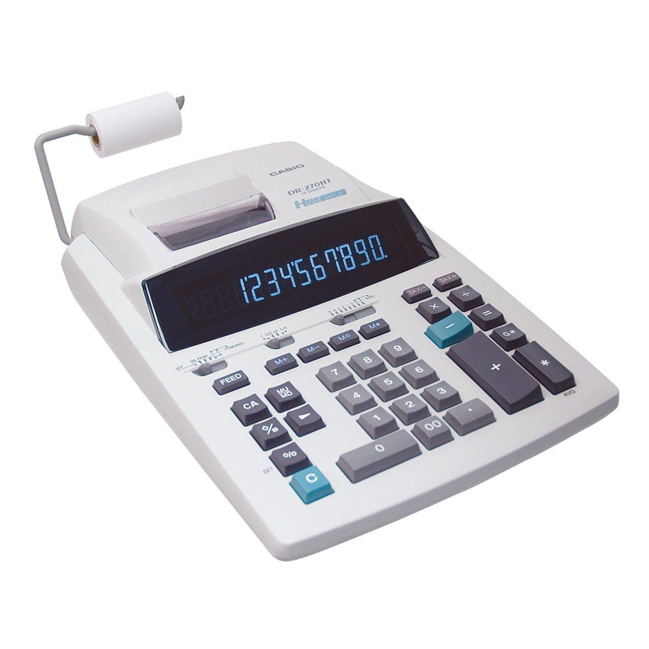 CASIO 12-Digit Printing Calculator