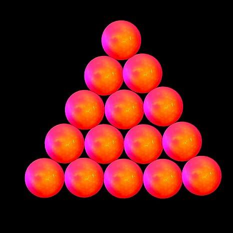 15 Unidades Super Brillante Noche Flyer Brillante LED Pelota de ...