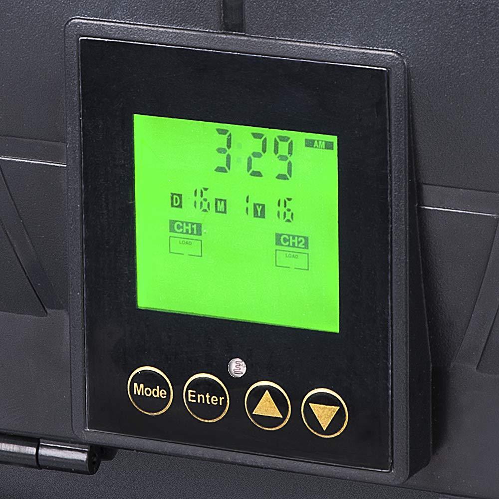 Dusk-to-Dawn Sterno Home GL33600 Paradise 12V 600W Transformer for Outdoor Landscape Lighting Astronomical Timer 600-watt Northern International Inc.