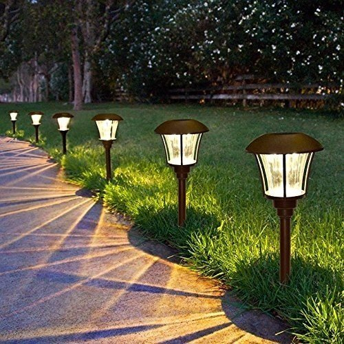 Top 10 best solar led pathway lights reviews 2017 on flipboard for Outdoor electric yard lights