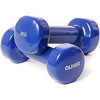 Oliver - Pesas (2 unidades, revestimiento de vinilo)