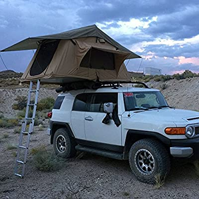 Tuff Stuff Scout Rooftop Tent- Black Driving Cover