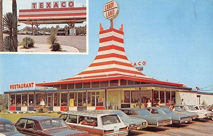 Jesup Georgia Candy Land restaurant Texaco station vintage