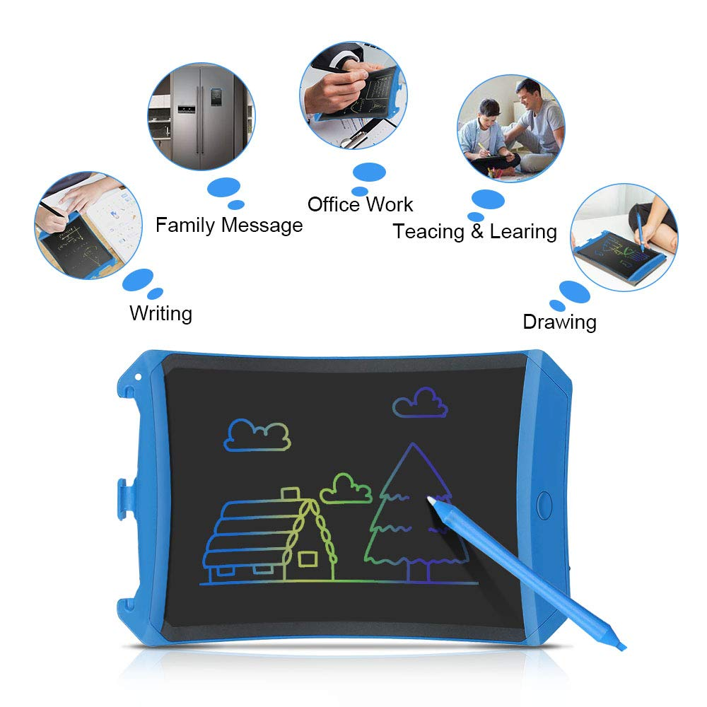 LET'S GO! Doodle Board for Adults Boys Girls, LCD Writing Tablet Magnetic Drawing Tablet for Kids Adults Reusable Erasable Ewriter Best Gifts for Kids Boys Girls 8-12 Blueness DMXB2 by LET'S GO! (Image #3)