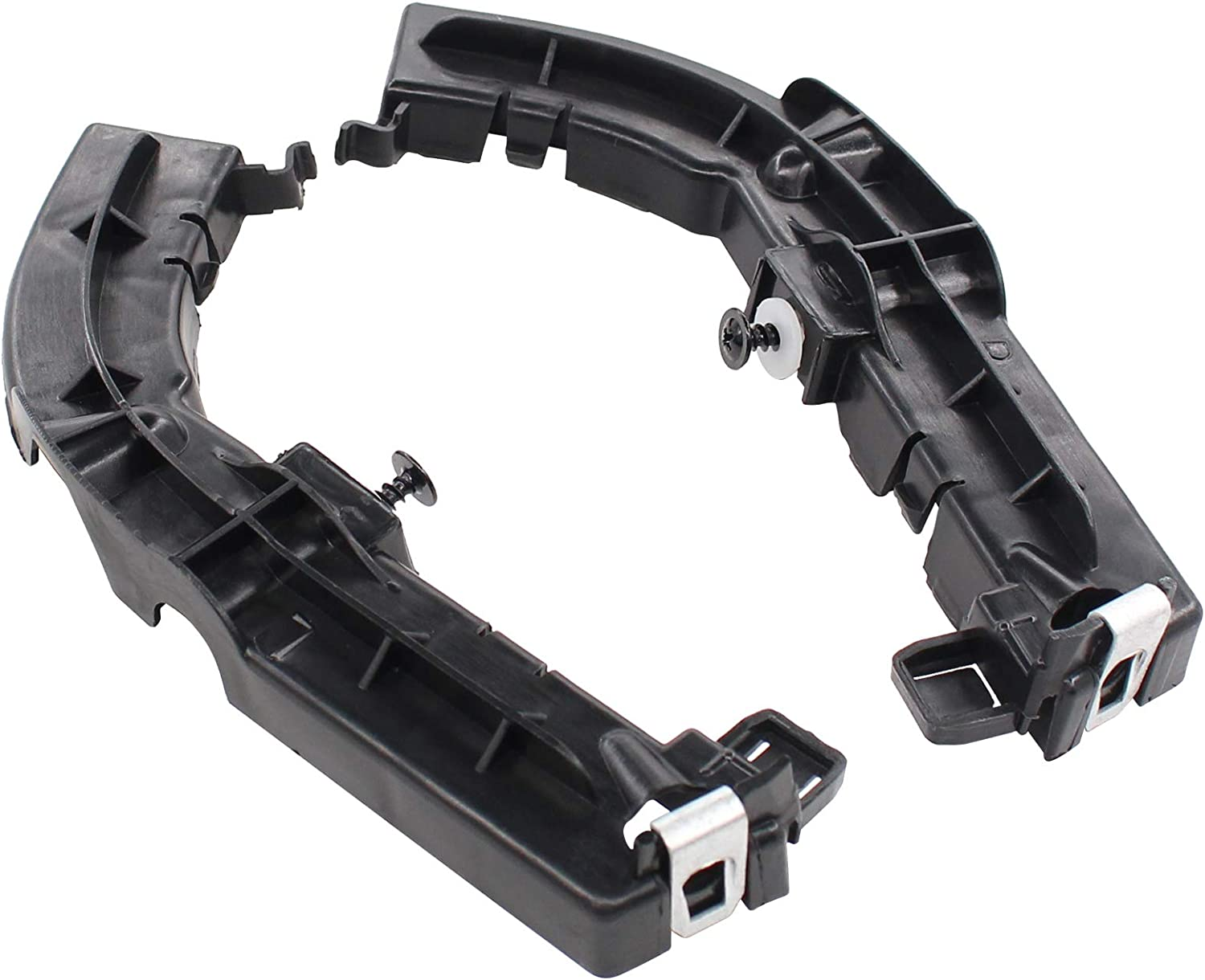 XtremeAmazing Left and Right Front Bumper Support Brackets Compatible with Dodge Challenger
