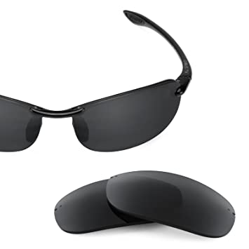 47548b7087f Revant Replacement Lenses for Maui Jim Makaha Stealth Black at ...