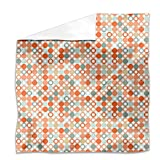 Autumnal Star Bingo Flat Sheet: King Luxury Microfiber, Soft, Breathable