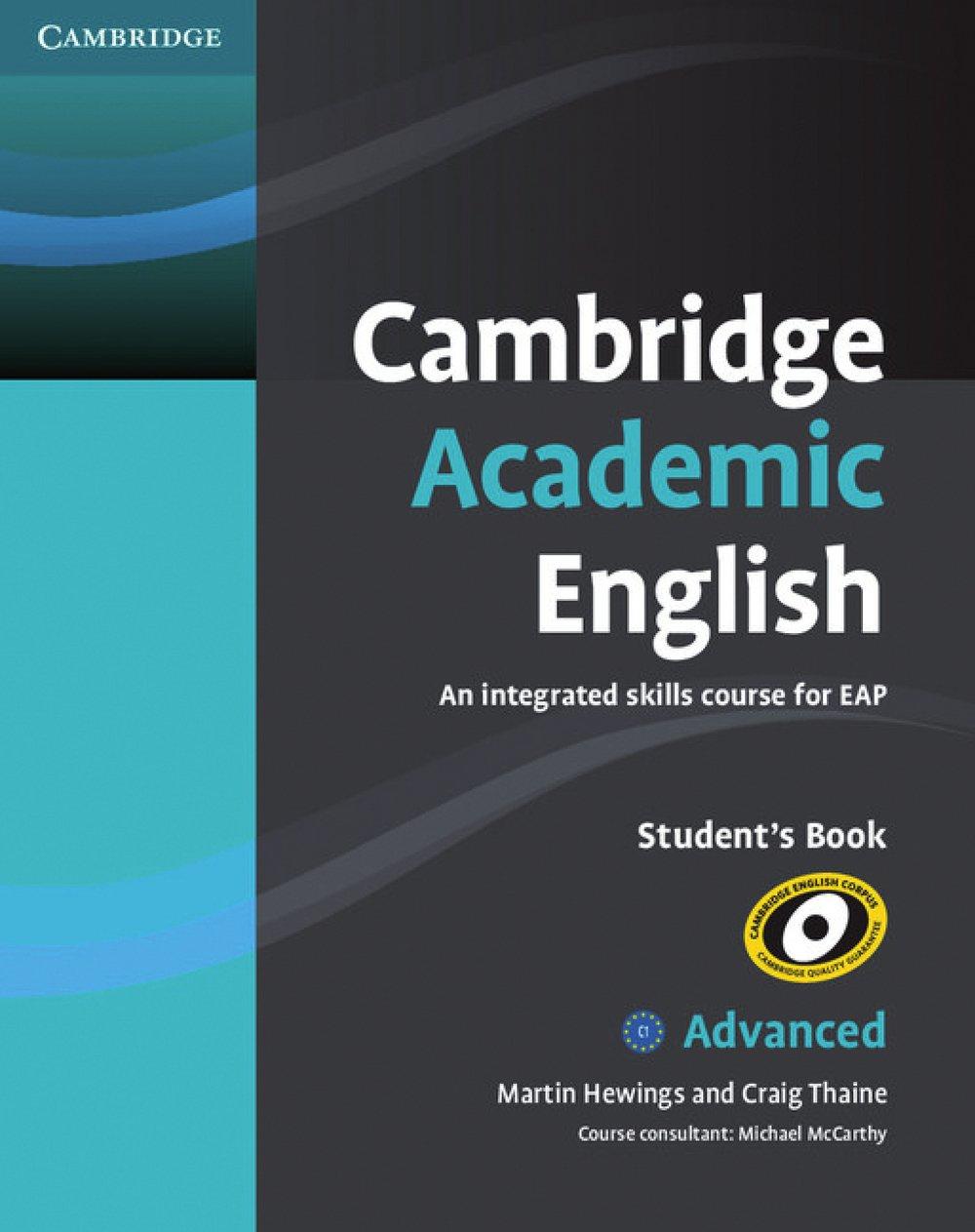 Cambridge Academic English C1: Advanced. Student's Book