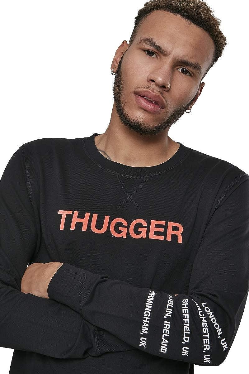 MERCHCODE Men's Thugger Childrose Crewneck Sweatshirt