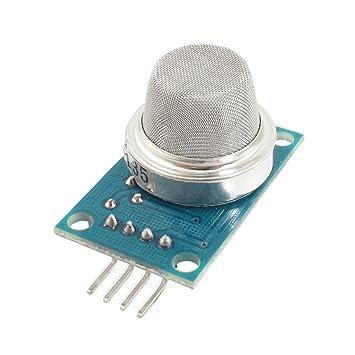 DC 5V 10-1000ppm sensor de gas amoníaco módulo detector MQ-135: Amazon.es: Coche y moto