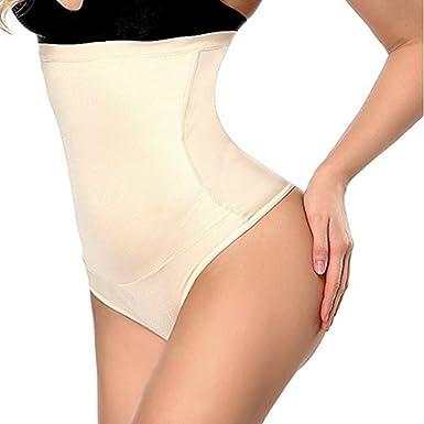 b3fb9b68a Intimo Modellante da Donna Guaina Contenitiva a Vita Alta Mutande  Contenitive Pantaloncini Thong Shapewear Dimagrante (