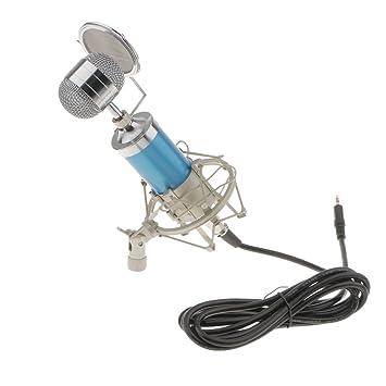 Gazechimp 1x Set Conjunto de Micrófono Montura de Choque Cable Audio USB Filtros Electrónica de Consumo