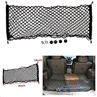 "MATCC 39""x16"" Auto Car Truck Back Rear Cargo Elastic String Net Storage Bag Organizer"