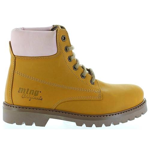 Mustang - Botas de piel Sprinter habana, rosa - 93629 - Talla 41: Amazon.es: Zapatos y complementos