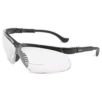 57369e8826e1 1.5 Diopter Uvex Genesis Reader Safety Glasses with Clear Lens (6 Pack) -  OSSG-SFTEYSG1000020854-1.5  Amazon.com  Industrial   Scientific