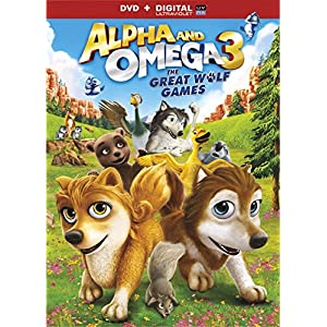 Alpha And Omega 3: The Great Wolf Games [DVD + Digital] (2015)