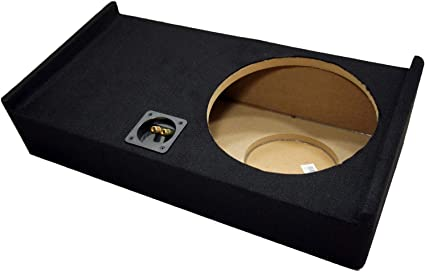 """2009-2013 Ford F150 Extended Cab Truck Single 12/"""" Subwoofer Enclosure Sub Box"""